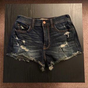 Hollister Vintage High-Rise Shorts